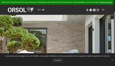 Site internet de Orsol Production