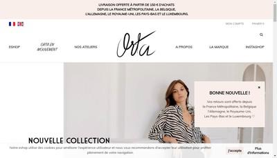 Site internet de Orta