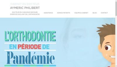 Site internet de Cabinet du Docteur Philibert