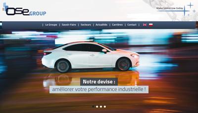 Site internet de Ose Industrie