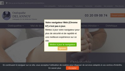 Site internet de Pascal Delannoy