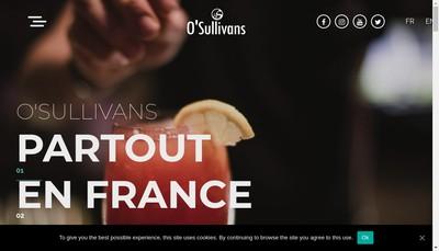 Site internet de O'Sullivans Pub Montmartre