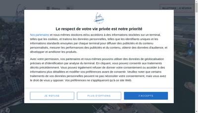 Site internet de Office de Tourisme Communautaire de Honfleur