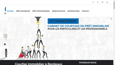 Site internet de Ot Financement