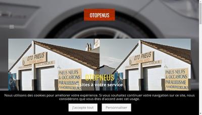 Site internet de Otopneus Com