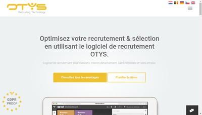 Site internet de Otys France
