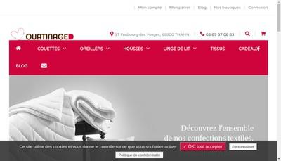 Site internet de Ouatinage d'Alsace