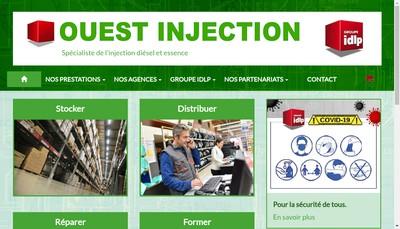 Site internet de Ouest Injection