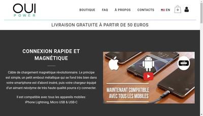 Site internet de Oui Smart