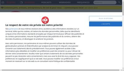 Site internet de Ouirock