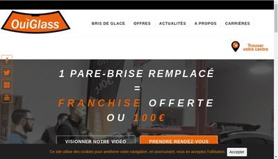 Site internet de Ouiglass France