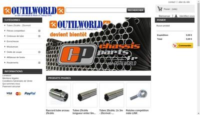 Site internet de Outilworld