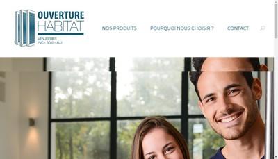 Site internet de Ouverture Habitat