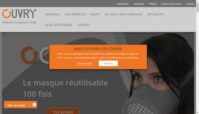 Site internet de Ouvry