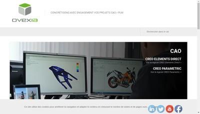 Site internet de Ovexia