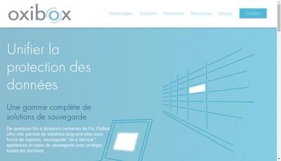 Site internet de Oxileo