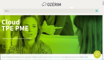 Site internet de Ozerim