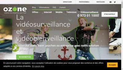 Site internet de Ozone