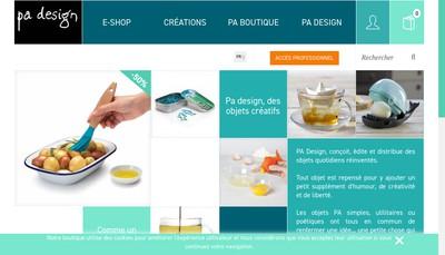 Site internet de Pa Design - Epiteth Rec - Iod