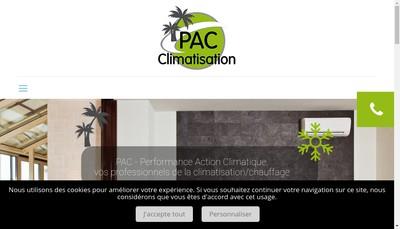 Site internet de Performance Action Climatique
