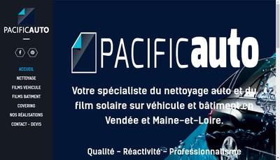 Site internet de Pacific Auto