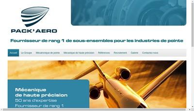Site internet de Pack'Aero