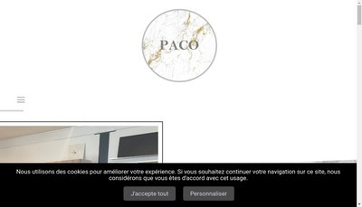 Site internet de Paco
