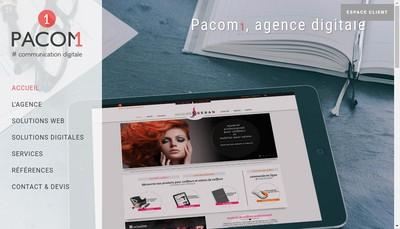 Site internet de Pacom1