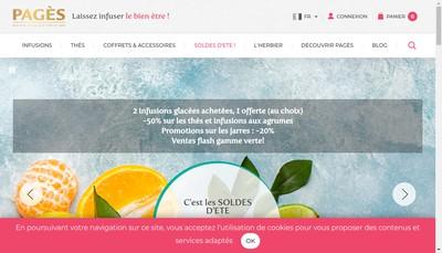 Site internet de Tisane(S)The(S)Infusion(S)Agric Bio Bio
