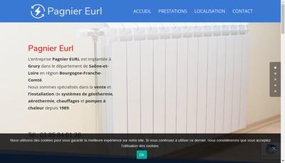 Site internet de EURL Pagnier