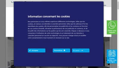 Site internet de Pagny Associes Ressources Humaines