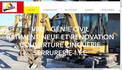 Site internet de Pagot