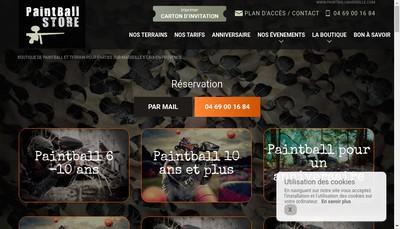 Site internet de PBS Marseille