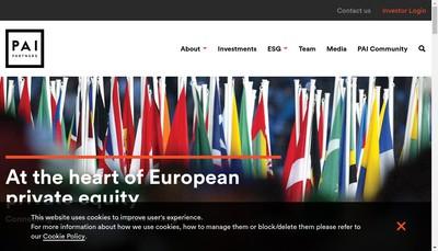 Site internet de Pai Partners