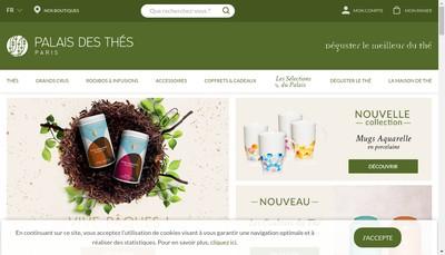 Site internet de Le Palais des Thes