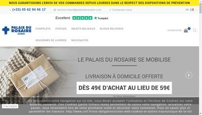 Site internet de Palais du Rosaire