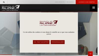 Site internet de Palatine