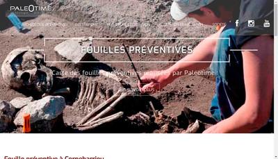 Site internet de Paleotime