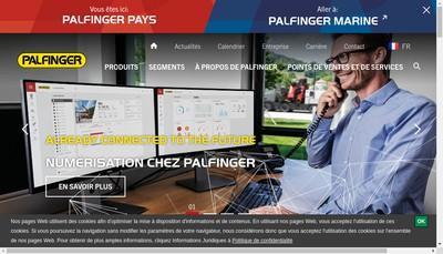Site internet de Palfinger Hayins SAS