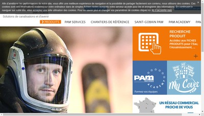 Site internet de PAM
