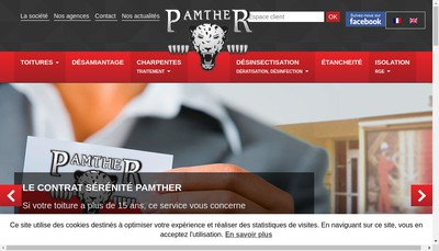 Site internet de Pamther