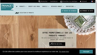 Site internet de Panaget