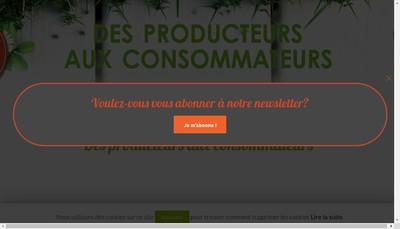 Site internet de Le Panier de la Ferme