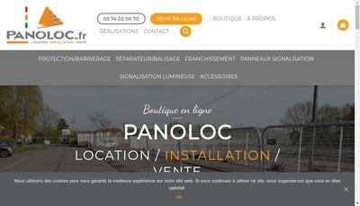 Site internet de Panoloc