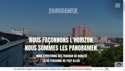 Site internet de Panoramen