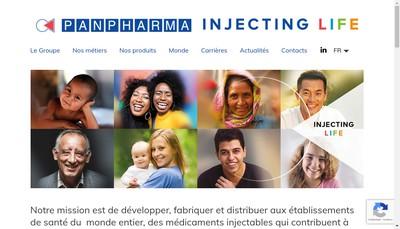 Site internet de Panpharma