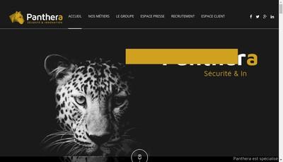 Site internet de Panthera