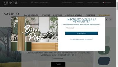 Site internet de Agence Piu Design