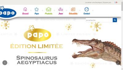 Site internet de Papo