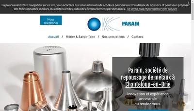 Site internet de Parain